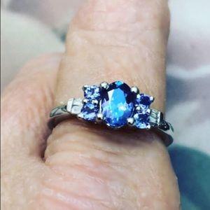 AAA Premium Tanzanite, Diamond Ring